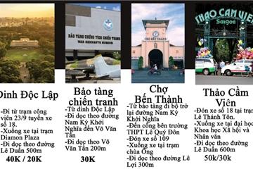 """Học trò hát rap """"review"""" cảnh đẹp Sài Gòn, khuyến khích người trẻ đi xe buýt"""