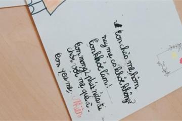 Có con gái mê viết 'tình thư', mẹ lịm tim vì hạnh phúc