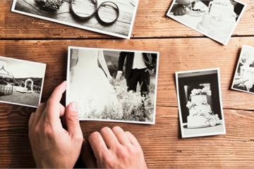 Bối rối xử lý album cưới sau ly hôn
