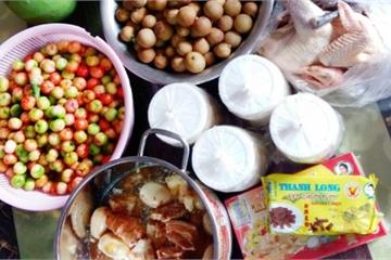 """Con gái """"ăn chực bền vững"""", vỏ thùng thực phẩm mẹ gửi chất đầy kho"""