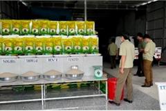 Phát hiện hơn 7 tấn gạo nghi giả nhãn hiệu gạo ngon nhất thế giới