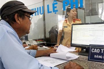 Người dân cả nước sẽ được đăng ký xe qua mạng