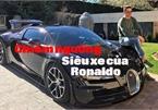 Ngắm dàn siêu xe của Ronaldo và các sao bóng đá