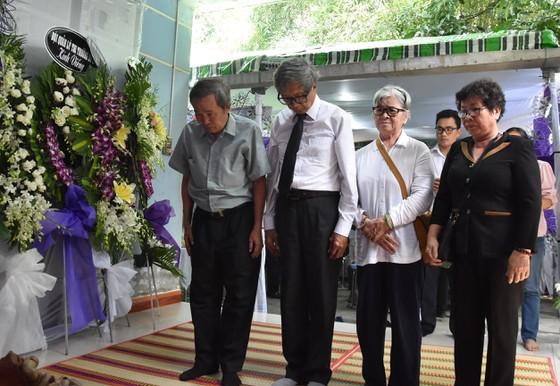 Nguyên Chủ tịch nước Trương Tấn Sang tiễn biệt Nhân sĩ Nguyễn Hữu Hạnh ảnh 4