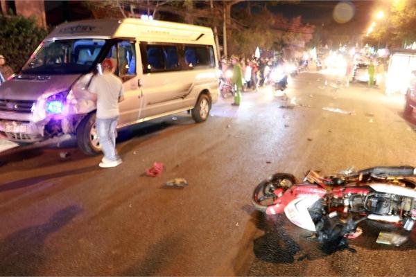 Tai nạn liên hoàn ở Đà Lạt, 2 người ngã xuống đường tử vong
