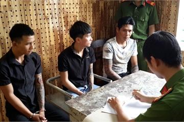Đắk Nông: Chém nhau kinh hoàng tại quán nhậu, 3 đối tượng bị bắt khẩn cấp
