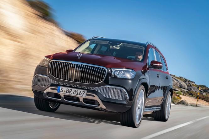 SUV siêu sang của Mercedes chính thức trình làng - ảnh 2