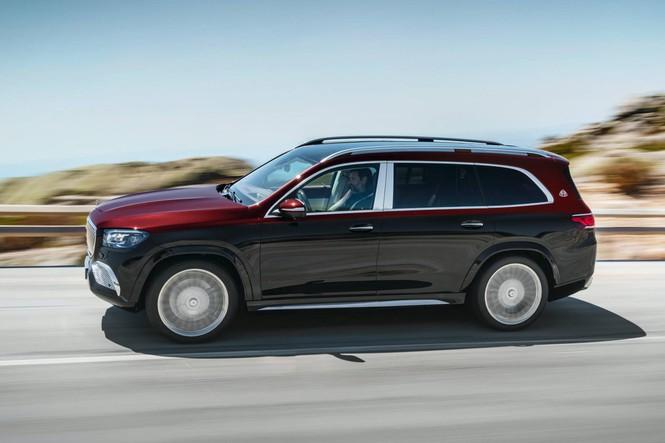 SUV siêu sang của Mercedes chính thức trình làng - ảnh 3