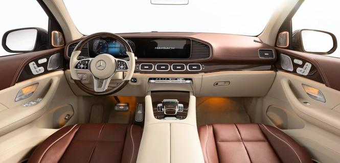 SUV siêu sang của Mercedes chính thức trình làng - ảnh 4