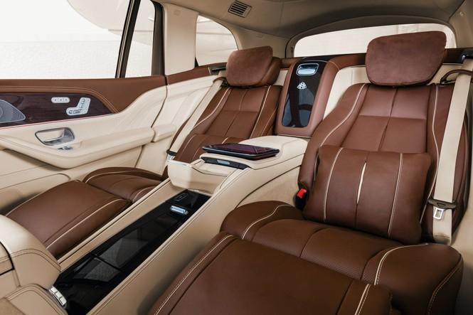SUV siêu sang của Mercedes chính thức trình làng - ảnh 5