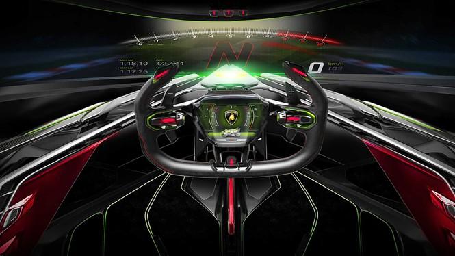 Lamborghini mang concept 'siêu ấn tượng' từ game ra đời thực - ảnh 7