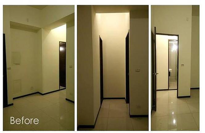 Căn hộ 30m2 chật hẹp, tối tăm như rộng gấp đôi sau cải tạo - ảnh 1