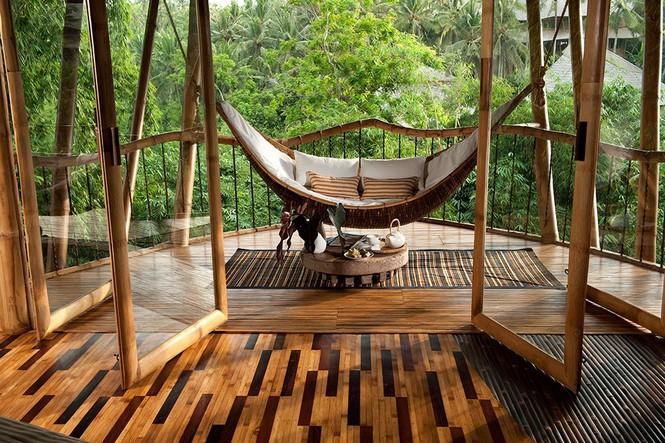 Ngỡ ngàng 'biệt thự tre' 6 tầng tuyệt đẹp giữa rừng - ảnh 11