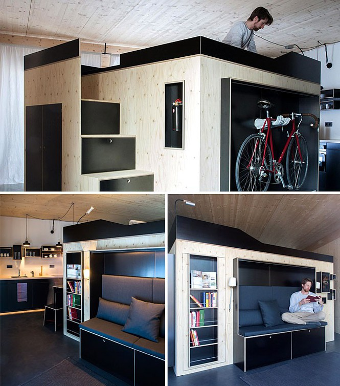 Những căn hộ siêu nhỏ, cực chất nhìn mê liền nhờ thiết kế thông minh - ảnh 1