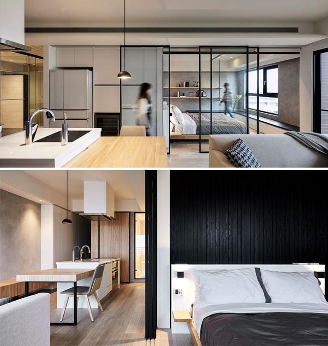 Những căn hộ siêu nhỏ, cực chất nhìn mê liền nhờ thiết kế thông minh - ảnh 8