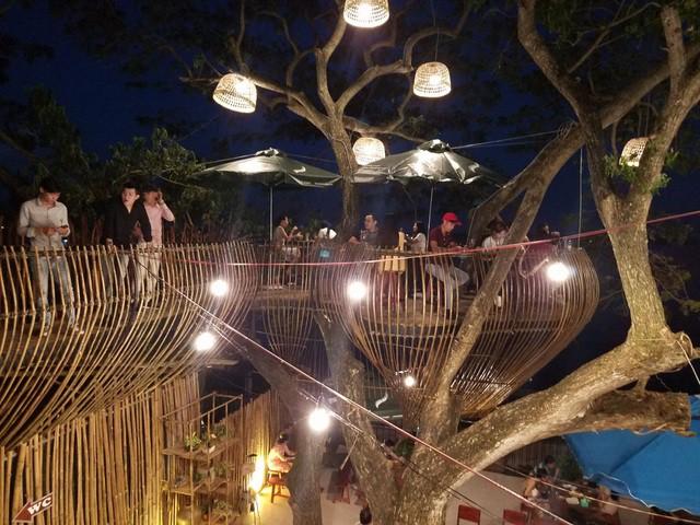 Cận cảnh những ngôi nhà 'treo mình' trên cây, 'độc' nhất Việt Nam - ảnh 11