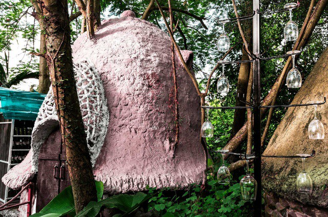 Cận cảnh những ngôi nhà 'treo mình' trên cây, 'độc' nhất Việt Nam - ảnh 3