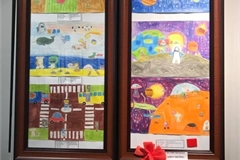 Painting exhibition celebrates Children's Day