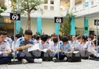 Private high schools in HCM City compete with each other to attract students