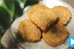 Vietnamese food: Fried mooncake