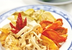 Tuber pickles and dried radish salad, two must-try dishes of Nghe An