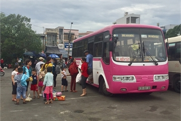 Passenger transport services mostly resume operation in HCM City