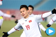 Six moments of genius from football star Quang Hai