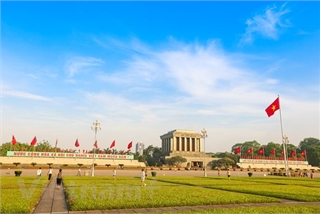 President Ho Chi Minh's Mausoleum reopened today