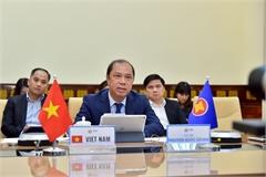ASEAN senior officials meet online