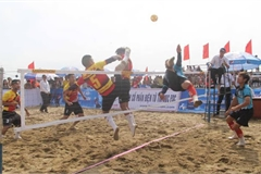 National beach sepak takraw champs to begin in Da Nang