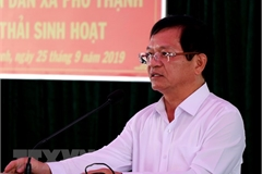Politburo warns Secretary of Quang Ngai Party Committee