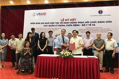 VN Medical Services Administration partners with eight NGOs in improving rehabilitation activities