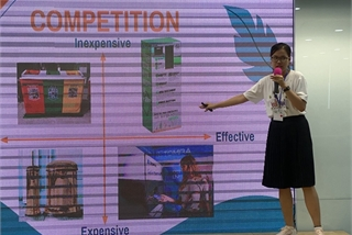Da Nang university students win first prize at investor-style pitch competition
