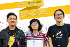 International University students win prizes at University Physics Competition
