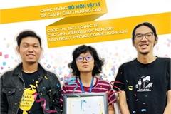 International Universitystudents win prizes atUniversity Physics Competition