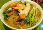 Vietnamese food: Fish rice noodles
