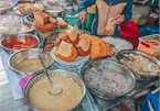 Vietnamese, international street food at Ho Thi Ky Street