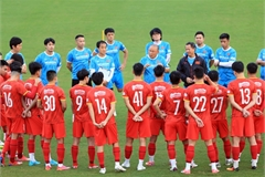 Vietnam arrive Dubai for World Cup qualifying match against China