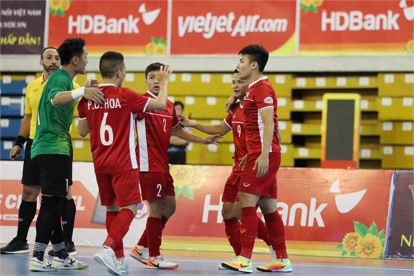 Vietnam aim to grab second World Cup slot in Futsal