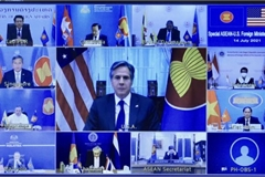 Vietnam stresses COVID-19 recovery, East Sea stability in US-ASEAN foreign ministers' meeting
