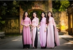 Don't judge the book by its cover, do not judge a woman by the Ao Dai she wears
