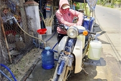 Binh Dinh households face water shortage