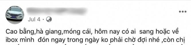 Giật mình với những quảng cáo đưa người qua biên giới Việt - Trung trốn cách ly trên mạng xã hội - ảnh 3
