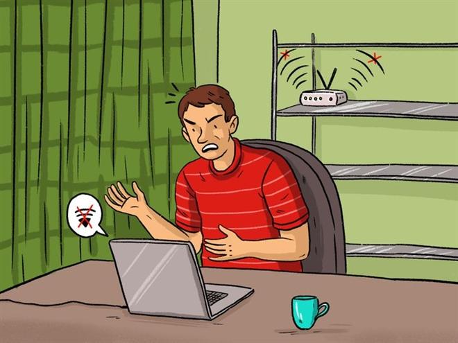 8 'thủ phạm' khiến wifi nhà bạn hoạt động kém - 1