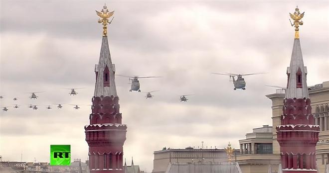 Nga duyệt binh kỷ niệm 76 năm Ngày chiến thắng 9/5 - 8
