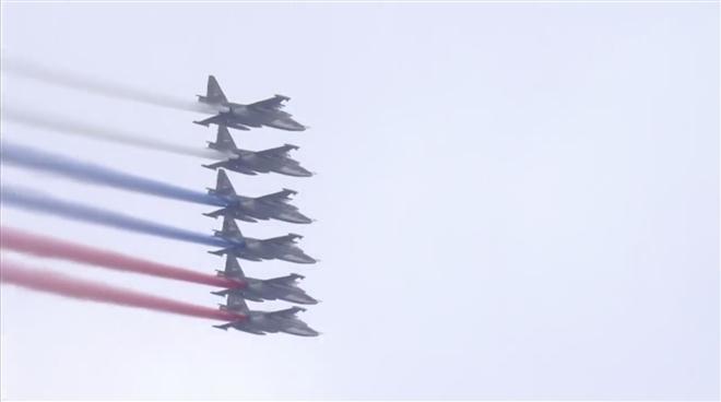 Nga duyệt binh kỷ niệm 76 năm Ngày chiến thắng 9/5 - 1