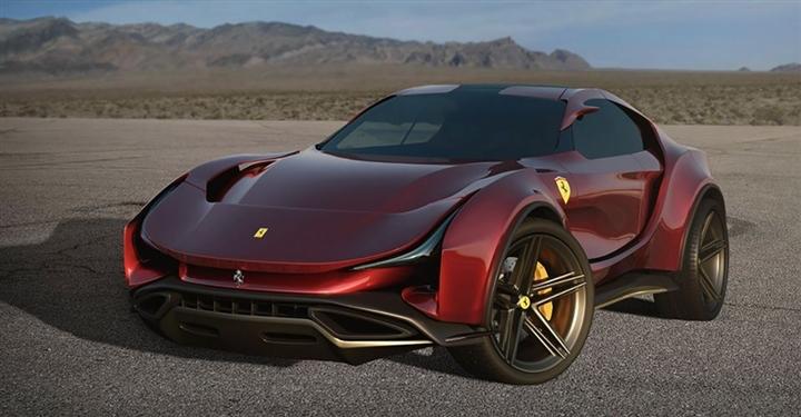 Mẫu SUV đầu tiên của Ferrari với thiết kế hầm hố - 1