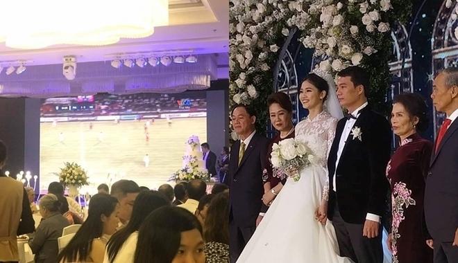 6 đám cưới xa xỉ bậc nhất Vbiz: Sắm cả màn hình lớn để cổ vũ tuyển Việt Nam - 11