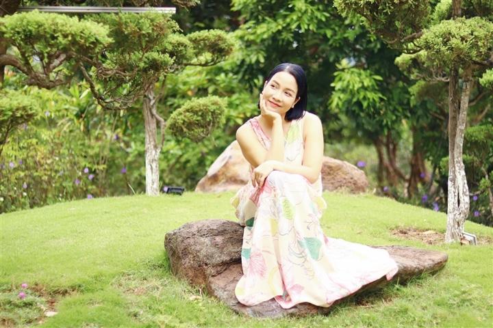 Diva Mỹ Linh chia sẻ trong mùa dịch: Cả nhà tiêu gần hết tiền tiết kiệm - 1