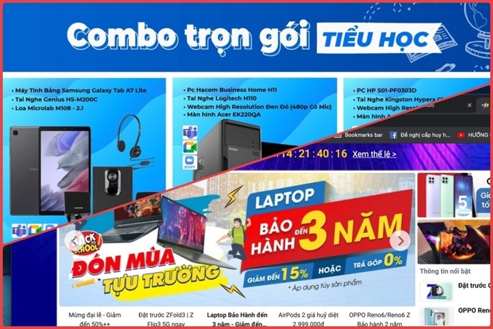 Phụ huynh nháo nhào mua cho con học online, thị trường máy tính lên cơn sốt - 3